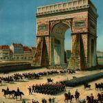 Прибыте в Париж прусских войск