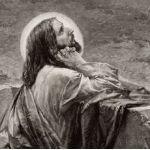 Иисус Христос на Масличной горе