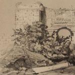 Вход (развалины) в замок Д'Азолюк
