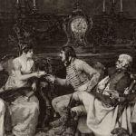 Итальянские дамы и офицеры Наполеона I-го