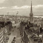 Вид на Ливерпуль с городской ратуши, южная сторона