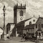 Улица Лордов и церковь Св. Георга на заднем плане