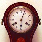 Каминные механические часы фирмы «Philipp Haas & Söhne»