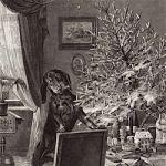 Падающая рождественская ёлка