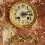 Антикварные французские каминные часы