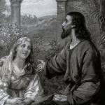 Христос с Марией и Марфой