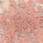 Карта Москвы 1897 г.