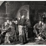 Молитва в монастырской пивной
