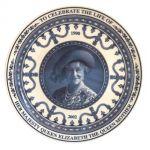 Тарелка памяти матери королевы