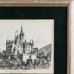 Вернигеродский замок в горах Гарц