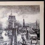 Вид на гавань Гамбурга