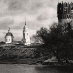 Церковь VII вселенского собораь. Окно западной башни