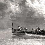 Итальянская рыбацкая лодка