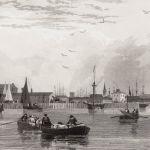 Вид на Ливерпуль с реки Мерси (№III)