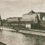 Общий вид Кремля с большим дворцом