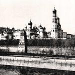Общий вид Кремля с его соборами