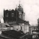 Вид со стены Новодевичьего монастыря