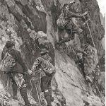 Восхождение на гору из хрупкого известника