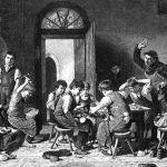 Урок труда в монастыре города Клостер