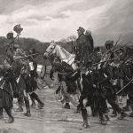 Фельдмаршал Блюхер с авангардом вышли к Рейну