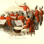 Копелла Иоганна Штрауса дает концерт на придворном балу