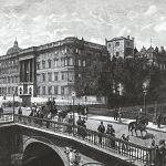 Королевский замок с длинным мостом в Берлине