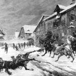 Нападениена прусский патруль во Франции
