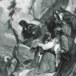 Плачущие женщины на пути несущего крест Христа