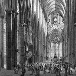 Внутрений вид Ульмского собора: интерьер