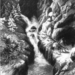 Водопад в Медельзерском ущелье