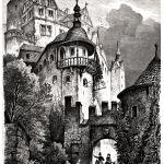 Замок в саксонии