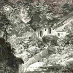 Дорога к паломнической церкви Св. Марии Магдалины