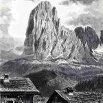 Лангкофель – самая высокая (3181 м.) гора перевала Валь Гардена в Тироле