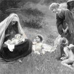 Мария и ангелы