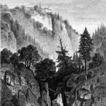 Монастырь на горе Одилиен в Эльзасе