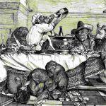 Обед обезьян