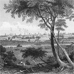 Вид на город Престон, Ланкашир
