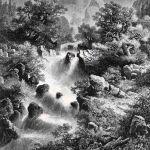 Водопад в Пиренеях