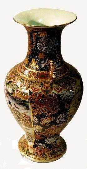 Китайская ваза вид 2